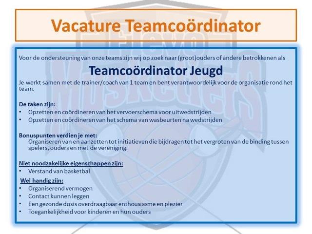 Teamcoördinator